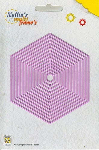 Nellie Snellen - Multi Frame`s - Straight hexagon