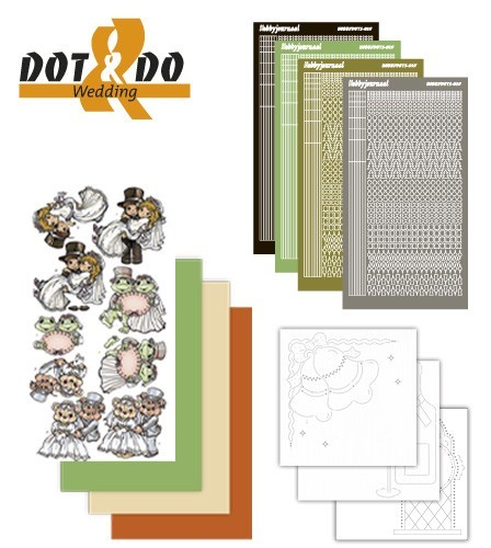 Card Deco - Kaartenpakketten - Dot & Do - No. 11b - Wedding - DODO011B