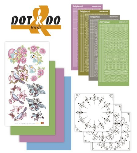 Card Deco - Kaartenpakketten - Dot & Do - No. 12B - Birds - DODO012B