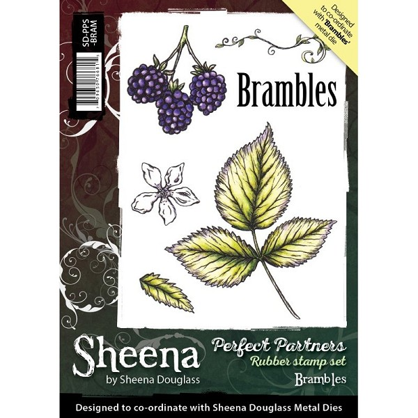 Sheena Douglass - Cling Stamp - Perfect Partners - Brambles - SD-PPS-BRAM