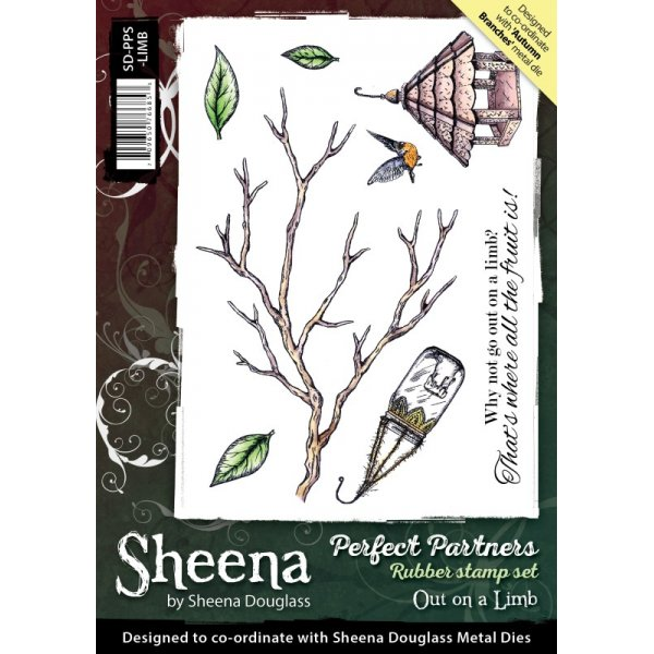 Sheena Douglass - Cling Stamp - Perfect Partners - Out on a Limb - SD-PPS-LIMB