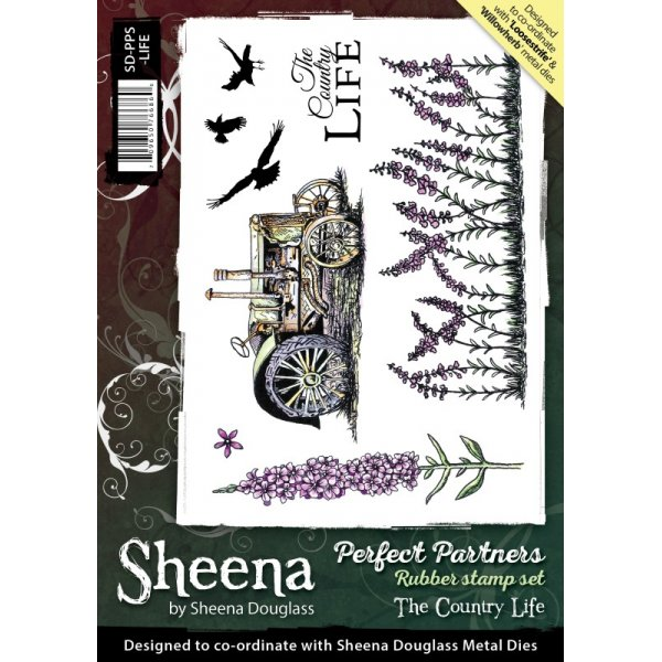 Sheena Douglass - Cling Stamp - Perfect Partners - The Country Life - SD-PPS-LIFE