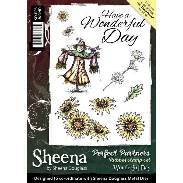 Sheena Douglass - Cling Stamp - Perfect Partners - Wonderful Day - SD-PPS-WOND