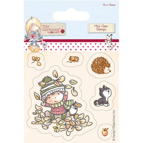 Docrafts - Tilly Daydream - Clearstamp - Terry - TIL907101