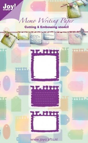 Joy! crafts - Die - Memo Writing Paper