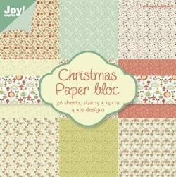 Joy! crafts - Noor! Design - Paperpack - Kerst nr. 1 - 6011/0017