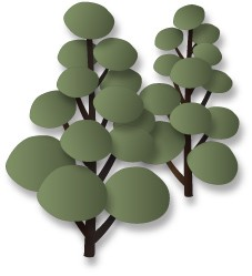 Dee`s Distinctively - Die - Pom Pom Tree Set 2