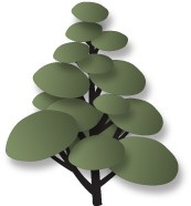 Dee`s Distinctively - Die - Pom Pom Tree Set 1