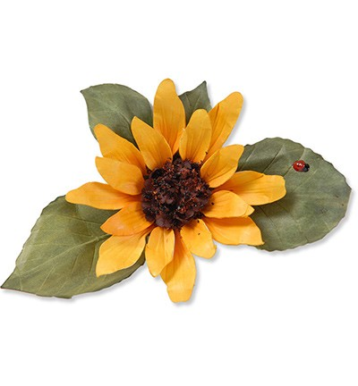 Sizzix - Die - Thinlits - Susan`s Garden - Flower Sunflower