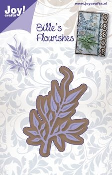 Joy! crafts - Die - Bille`s Flourishes - Tak 1