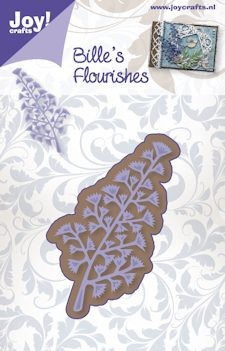 Joy! crafts - Die - Bille`s Flourishes - Tak 2