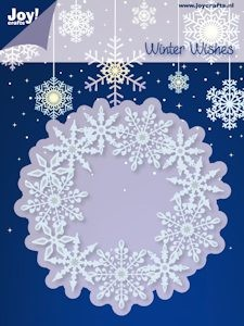 Joy! crafts - Noor! Design - Die - Winter Wishes - Cirkel ijskristallen - 6002/2022