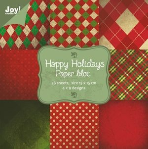 Joy! crafts - Noor! Design - Paperpack - Happy holidays 1 - 6011/0025