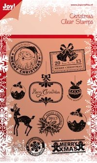 Joy! crafts - Noor! Design - Clearstamp - Christmas (ENG) - 6410/0103