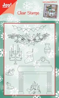 Joy! crafts - Clearstamp - Kerst - 6410/0108