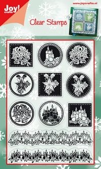 Joy! crafts - Clearstamp - Kerst - 6410/0109