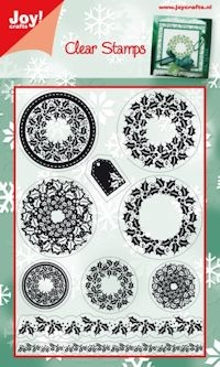 Joy! crafts - Clearstamp - Kerst - 6410/0110