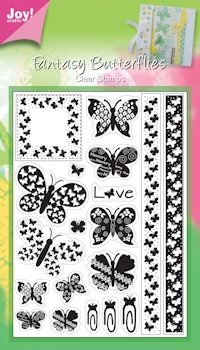 Joy! crafts - Clearstamp - Vlinders - 6410/0036