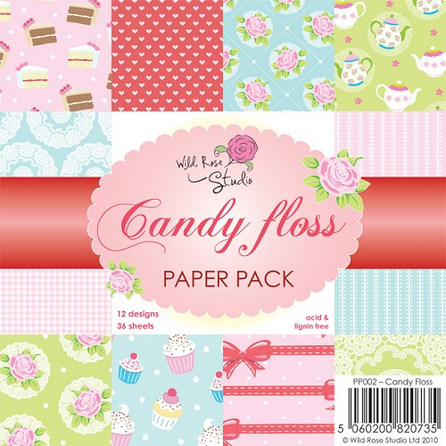 Wild Rose Studio`s - Paperpack - Candy Floss - PP002