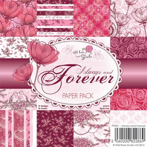 Wild Rose Studio`s - Paperpack - Always and Forever - PP031