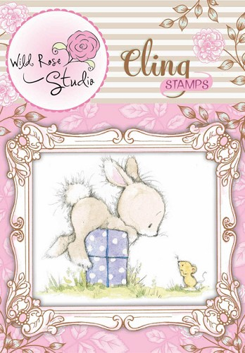 Wild Rose Studio`s - Cling Stamp - Bunny and Mouse - CS305