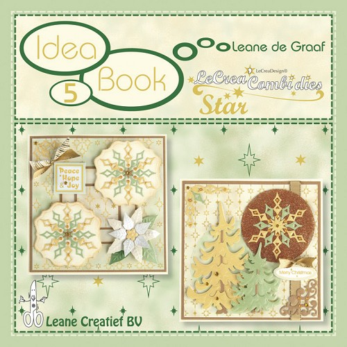 Leane Creatief - Idea Book 5 - LeCrea Combi Dies - Star - 90.9319