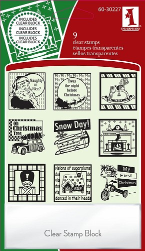 Inkadinkado - Clearstamp - Festive Holiday - 60-30227