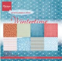 Marianne Design - Paperpack - Pretty Papers - Wintertime - PK9100
