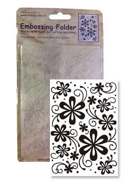 Centralcraftcollections - Embossingfolder - Flowers - CCC-4063