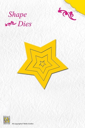 Nellie Snellen - Die - Shape Die - 5-point star