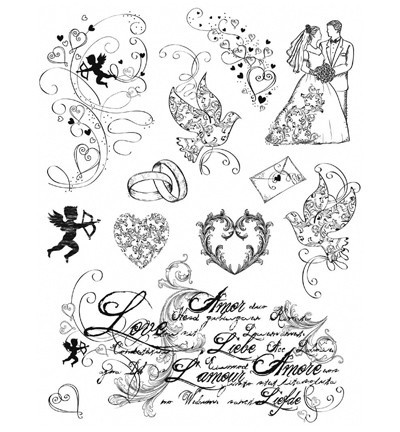 Viva Decor - Clearstamp - Love - 4003 020 00