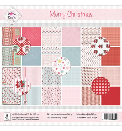 Rosa Dotje - Paperpack - Merry Christmas - 8363
