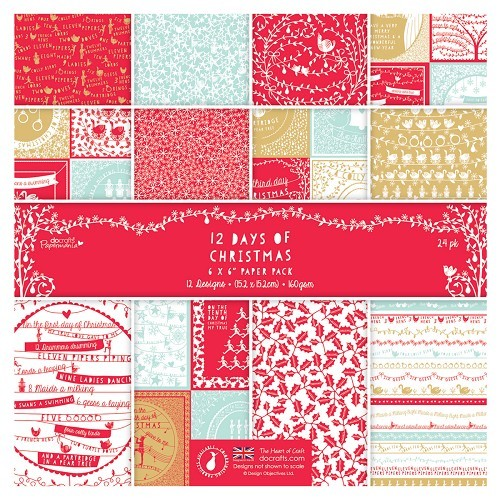 Papermania - Paperpack - 12 Days of Christmas - PMA160154