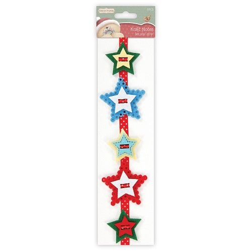 Forever Friends - Felt Star Strip: Christmas - FFS358101