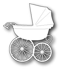 Memory box - Die - Baby Carriage