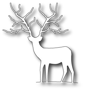 Memory box - Die - Woodland Deer