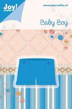 Joy! crafts - Noor! Design - Die - Baby Boy - Broekje