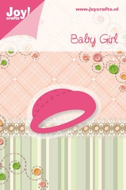 Joy! crafts - Noor! Design - Die - Baby Girl - Hoedje