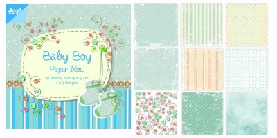 Joy! crafts - Noor! Design - Paperpack - Baby boy - 6011/0024