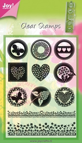 Joy! crafts - Clearstamp - Rond neutraal - 6410/0062