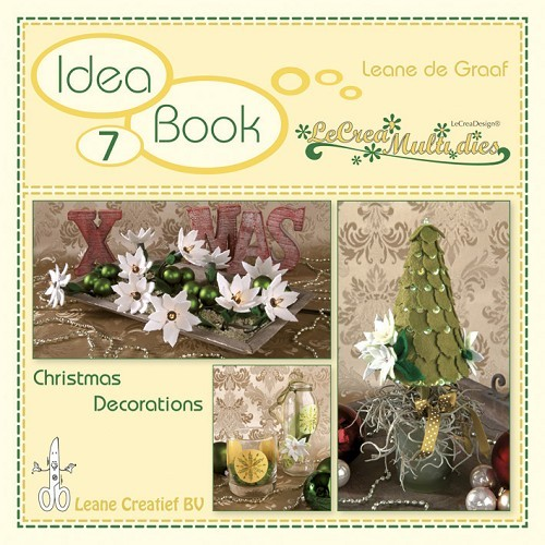 Leane Creatief - Idea book 7 - LeCrea Multi dies - Christmas Decorations - 90.9333