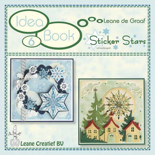Leane Creatief - Idea book 6 - Sticker Stars - 90.9326