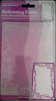 Centralcraftcollections - Embossingfolder - Bloem ornament - CCC-4068