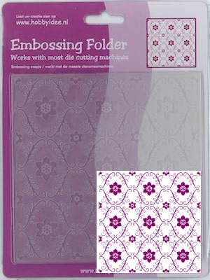 Centralcraftcollections - Embossingfolder - Bloempatroon - CCC-4064