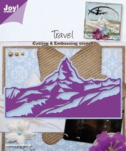 Joy! crafts - Die - Travel - Berglandschap