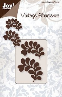Joy! crafts - Noor! Design - Die - Vintage Flourishes - Bladeren