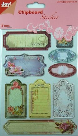 Joy! crafts - Chipboard stickers - Bloemen - 6013/1460