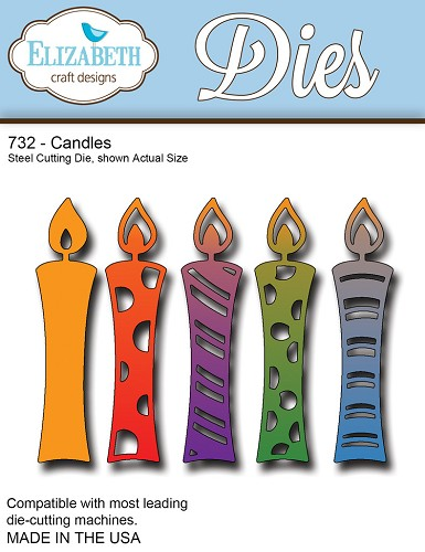 Elizabeth Craft - Die - Candles - 732
