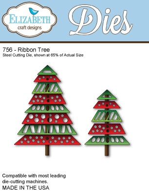 Elizabeth Craft - Die - Ribbon Tree - 756