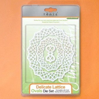Tonic - Die - Delicate Lattice Ovals